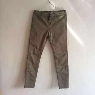Cotton on jegging mid-rise army