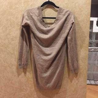 Aritzia T Babaton Cashmere Sweater Dress