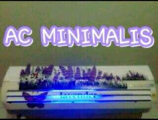 Ac minimalis kristal penyejuk ruangan udara