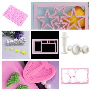 Tools for sugar gum fondant cake ang polymer clay