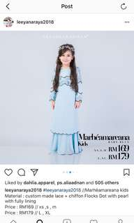 Leeyana rahman kid dress