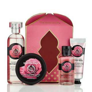 British Rose Gift Set Small The Body Shop Ramadhan Edition