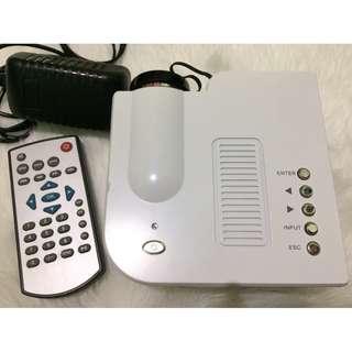 UC28 Plus Mini Portable Projector (White)