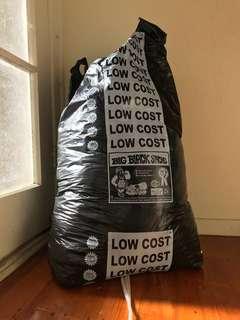 Selling big bag of clothes