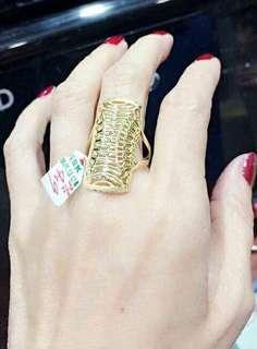 18k saudi gild Ring's