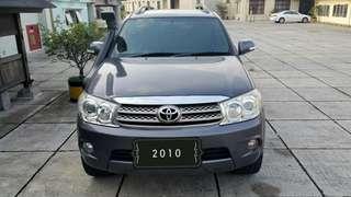 Toyota Fortuner G 2.5 AT Diesel 2010