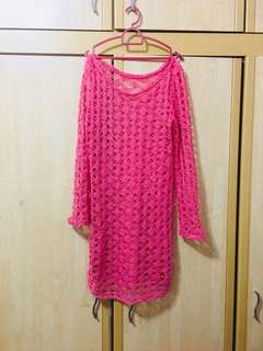 #Ramadhan50 #Sale Pink Laced Blouse