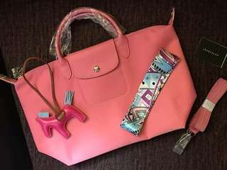 Longchamp on sale neo medium or small with freebies 🎉🎉🎉