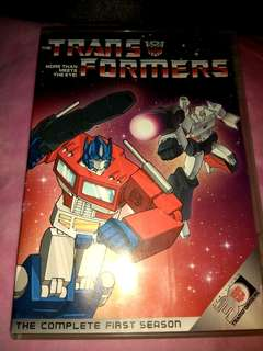 THE TRANSFORMERS -  The complete first season