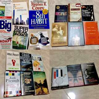 📚BOOK SALE / BOOK CLEARANCE 📚 FICTION & NON-FICTION BOOKS (Business / Management / Teenage books)