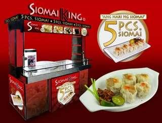 Shiomai king food cart