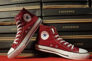 Converse ct as hi maroon