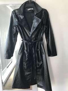 Fashionova leather coat small