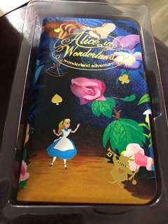 『正品』迪士尼 愛麗斯手機殼 Disney Alice in the wonderland IPhone case
