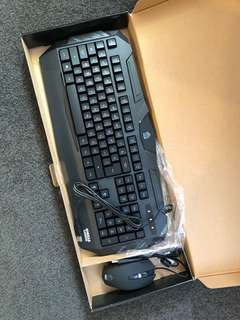 Predator gaming keyboard & mouse