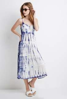 (NOT SELLING ATM) Forever 21 Tie Dye Midi Dress