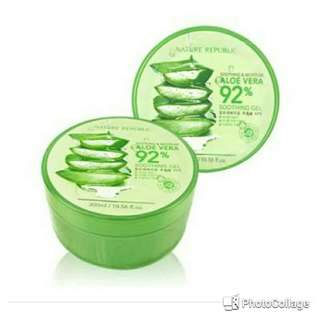 Nature Republic Aloe Vera 92% Moisture & Soothing Gel 300ml