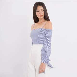 Double woot Off shoulder Jumpsuit Cullotes