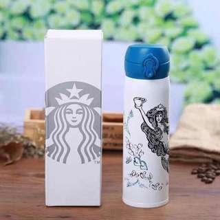 Starbucks Mermaid Thermos Tumbler