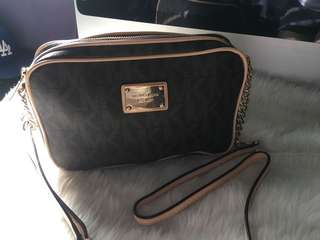 Michael Kors Sling bag with slightly flaw show in the pictures