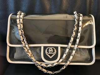 Chanel pvc透明果凍包