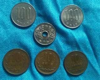 Japanese Yen Coins