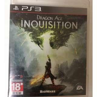闇龍紀元 異端審判 PS3 Dragon Age Inquisition