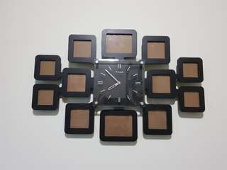 Photo Frame and Wall Clock