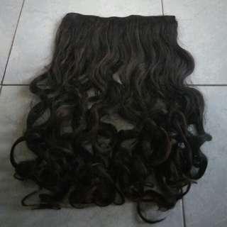 Hairclip darkbrown