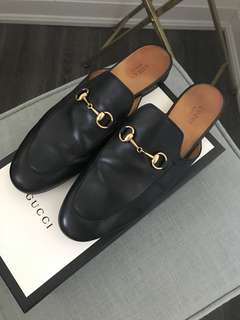 Gucci Princetown Loafers Size 40