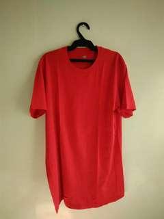 Uniqlo Red Supima Cotton