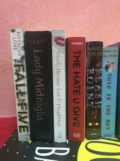 Preloved booksss