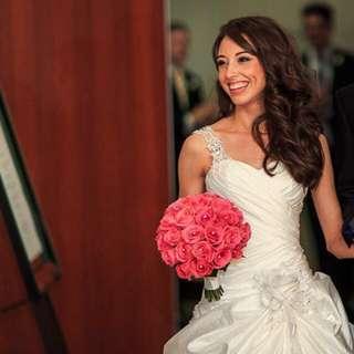 RRP$3,000 Swarovski Crystal Wedding Dress
