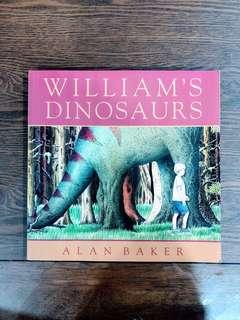 WILLIAM'S DINOSAURS Children's Book