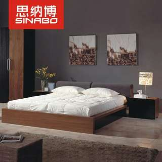 Solid wood Bed Frame (King size)
