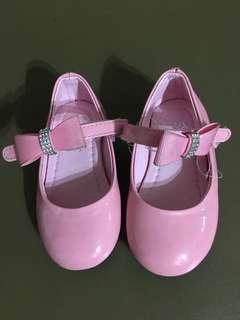 Sugar Kids Mary Jane Pink Shoes