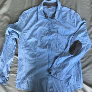 Esprit Polo with Cute Elbow Pads (barely worn) Large