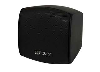 Ecler wall mount speakers with subwoofer