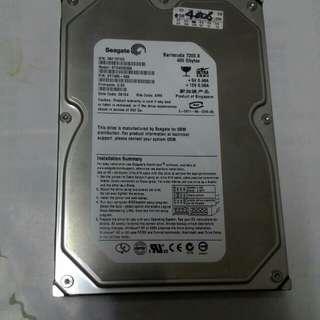 Seagate 400g 硬碟含運費只賣400元