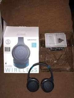 Audio-Technica Wireless Headphones(Original bought in Japan)