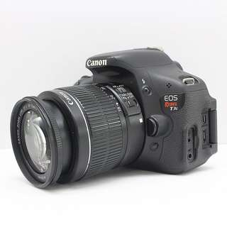 Canon T3i (600D) with vignette LCD