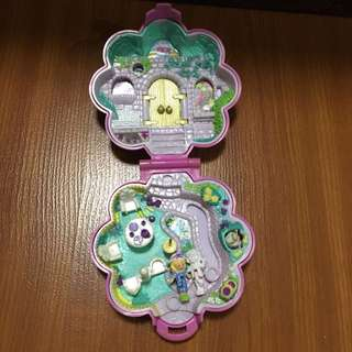 Vintage polly pocket garden surprise from bluebird 1990 - 100% complete