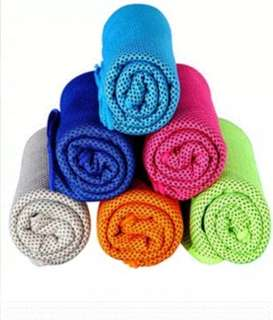 Gym ice cooling towel