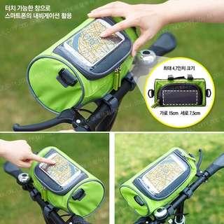 🚚 騎車觸控包-綠Bike riding tocth bag