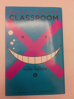 Assassination Classroom Manga Vol. 6