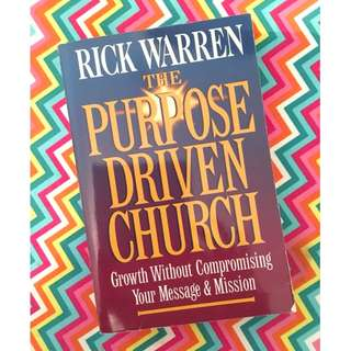 The Purpose Driven Church by Rick Warren Book
