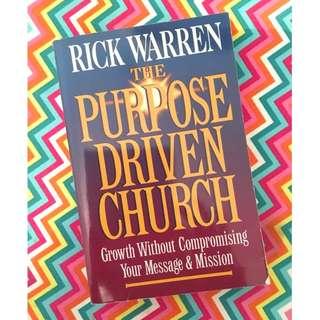 The Purpose Driven Church by Rick Warren Book