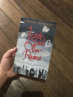 LOVE AND OTHER RUINS