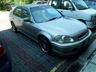 HONDA CIVIC 1.6 MANUAL