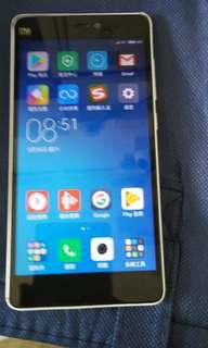 小米mi 4c白色手机